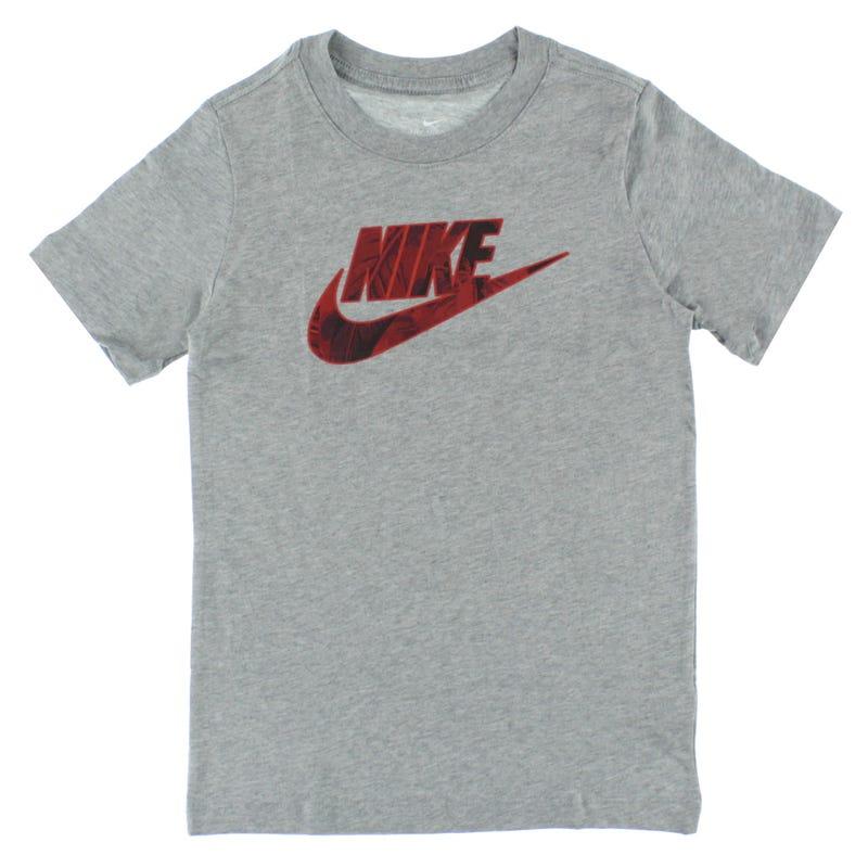 Futura Fill Swoosh Printed T-Shirt 8-16y