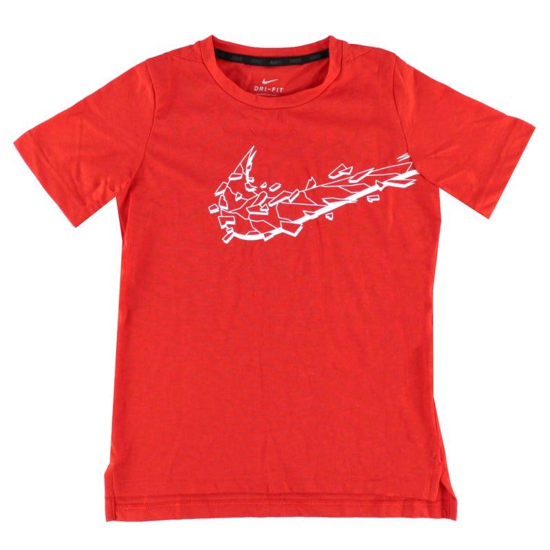 T-Shirt Hyper Dry 8-16ans - Rouge