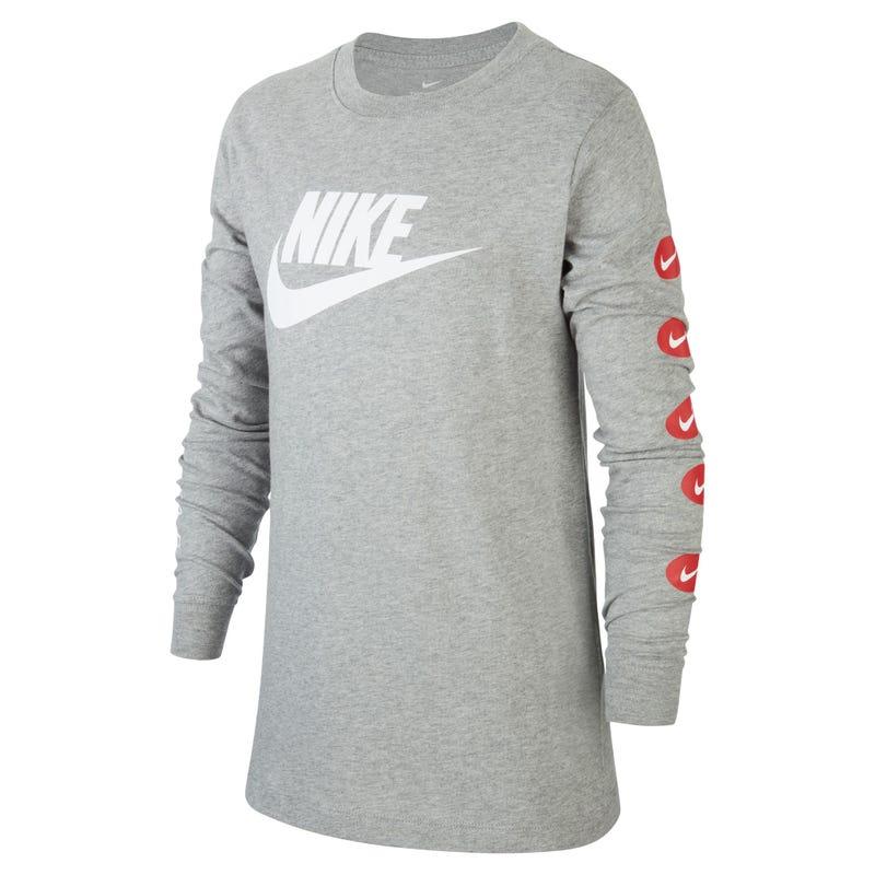 T-shirt Manches Longues Sportswear 8-16ans