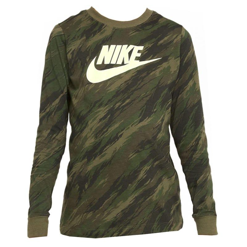 T-shirt Manches Longues Sportswear 8-12ans