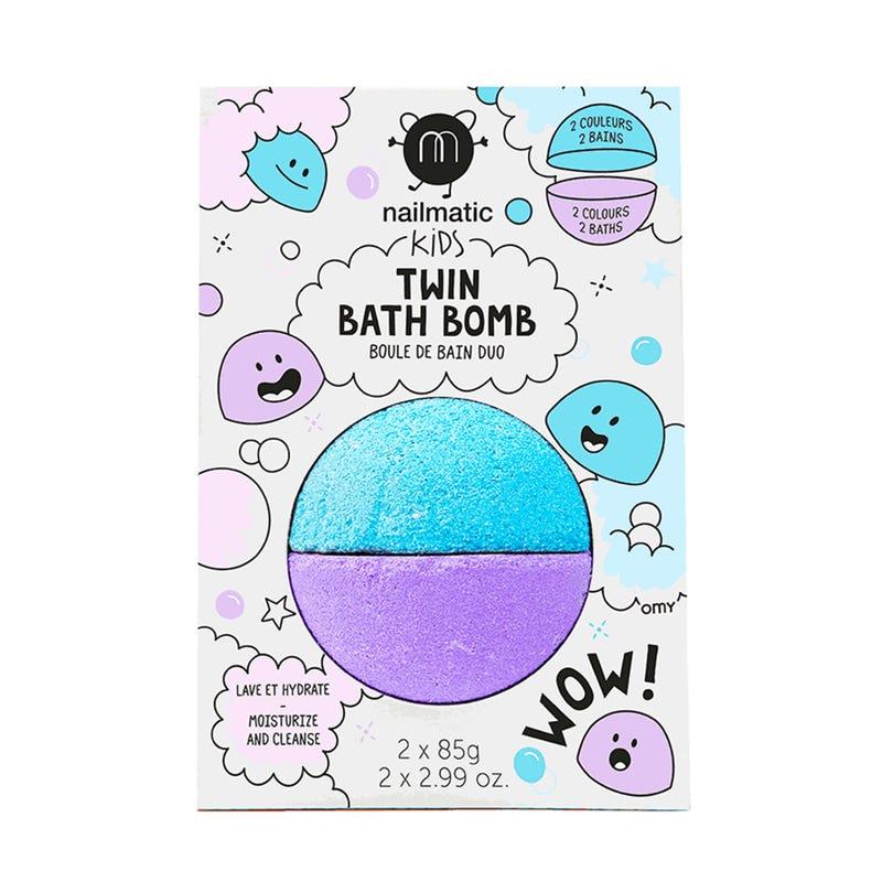 Bombe de Bain Twin - Bleu/Violet