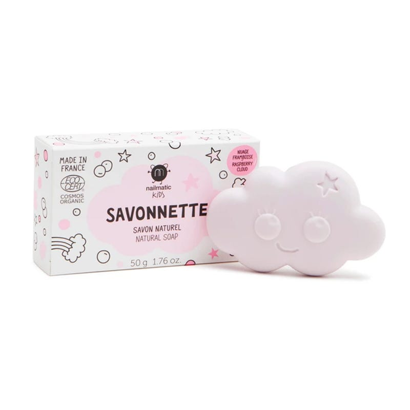 Organic Kids Soap - Rasberry Cloud