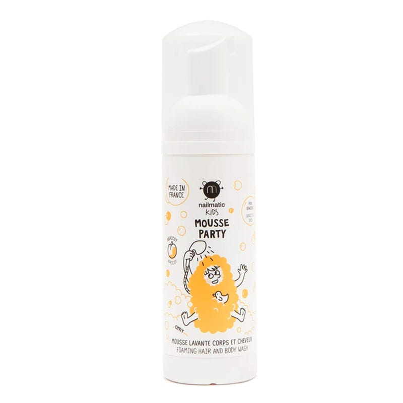 Mousse Party Hair and Body Foam - Abricot