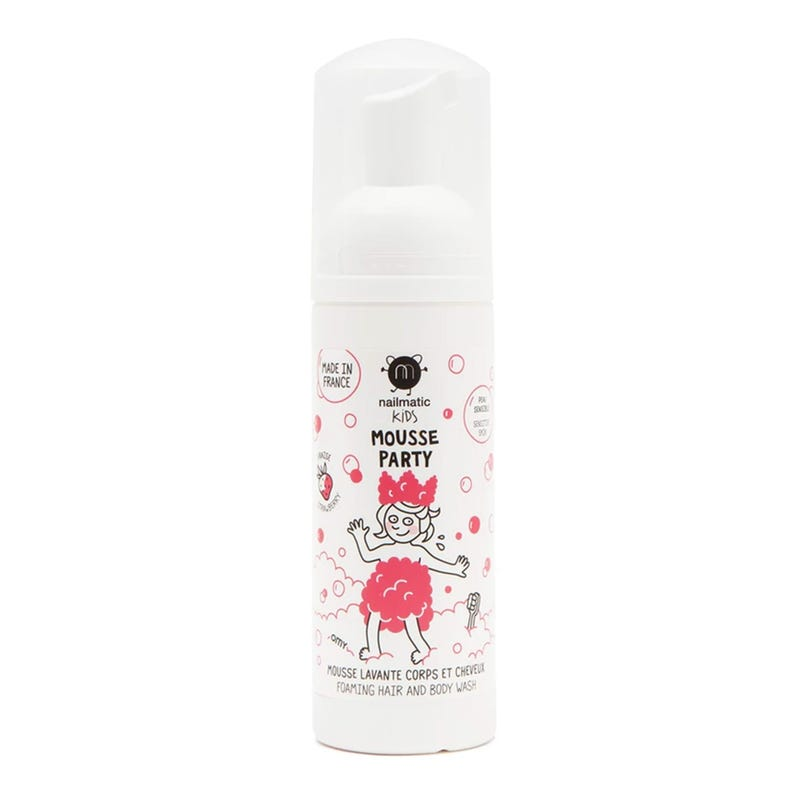 Mousse Party Hair and Body Foam - Strawberry