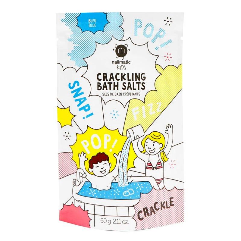 Crackling Bath Salts - Blue