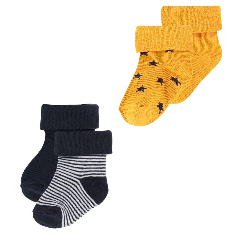 B Socks 4-Pack Guzz 0-12m