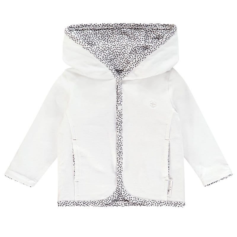 Haye Hooded Cardigan Premature-9m