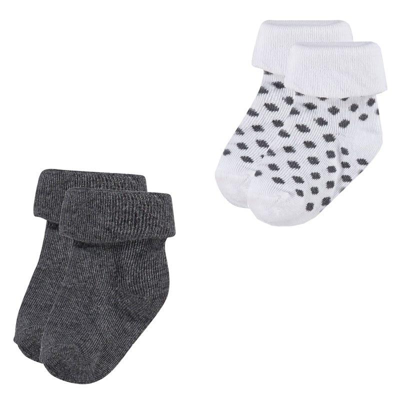 Dot 2-Pack Socks 0-12m