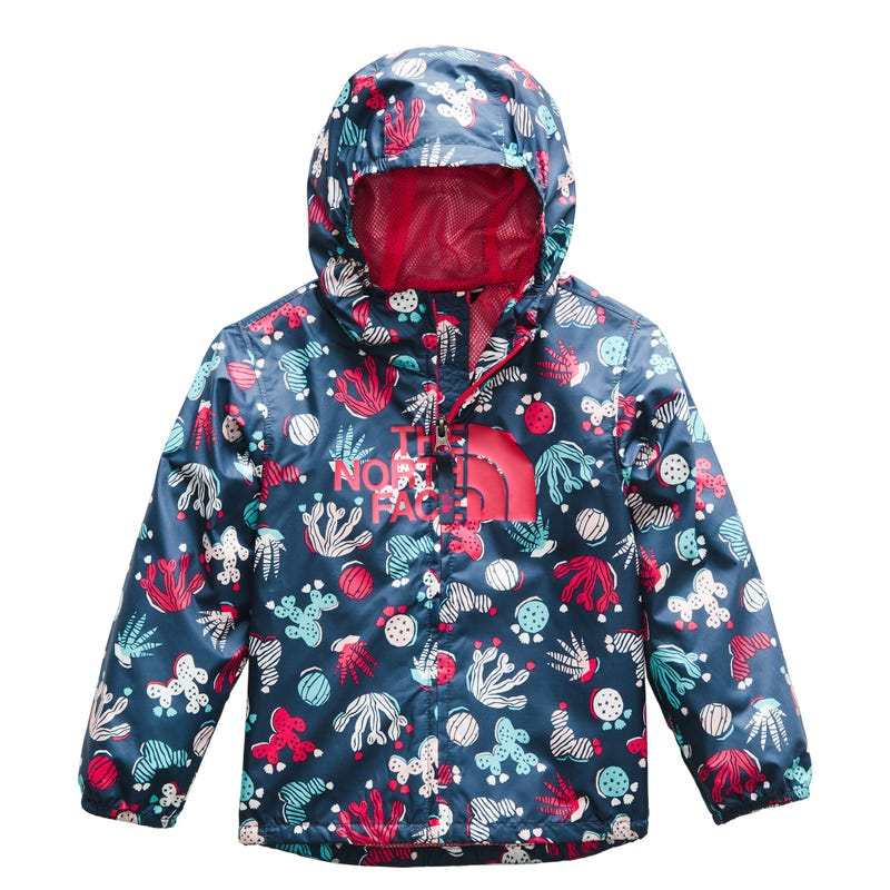 Novelty Flurry Rain Printed Jacket 3-6y