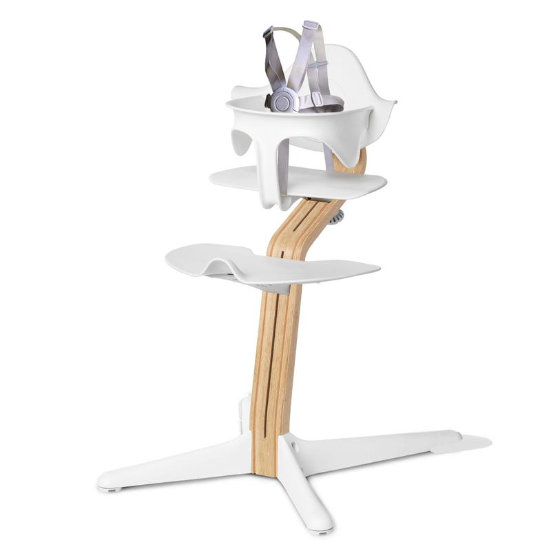 High Chair Nomi - White/Oak