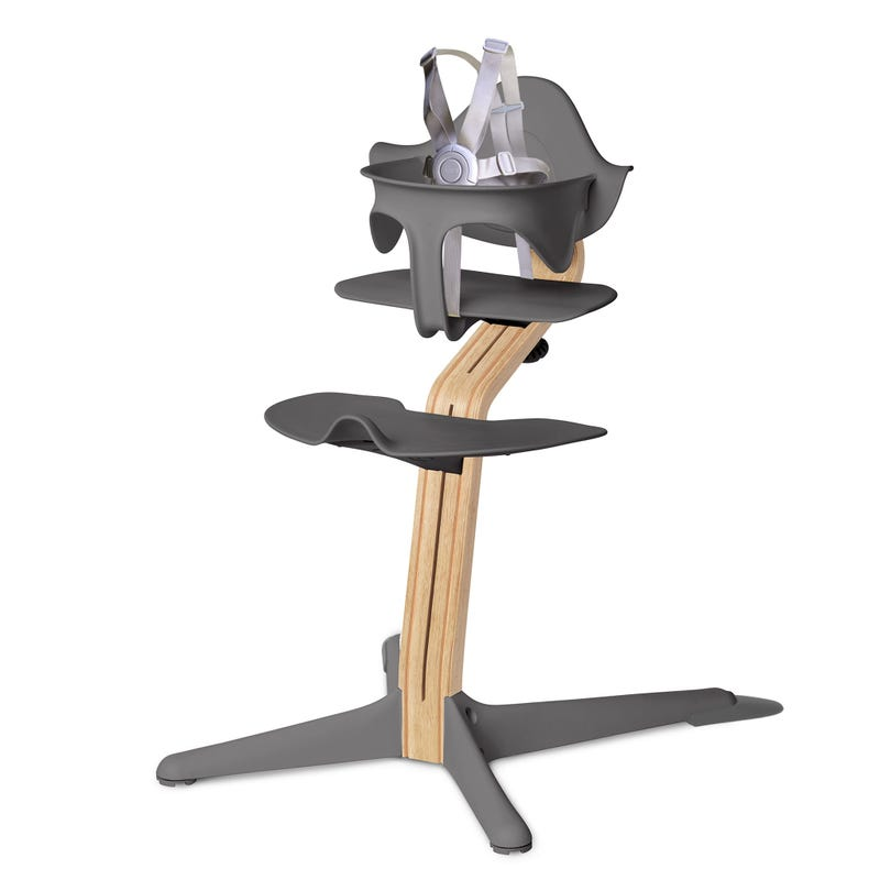 High Chair Nomi - Gray/Oak