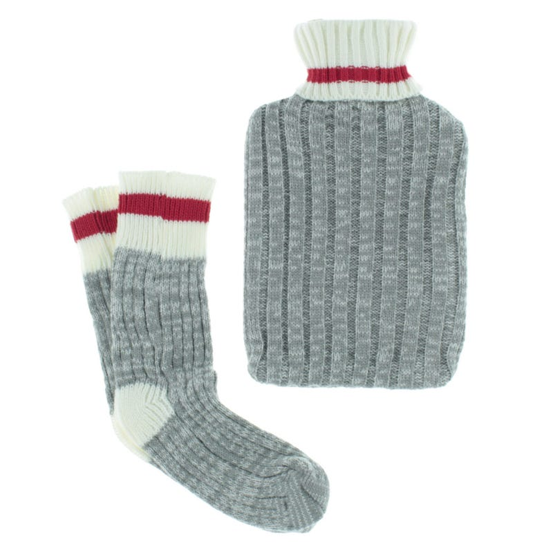 Set of Hot Water Bottle And Sock