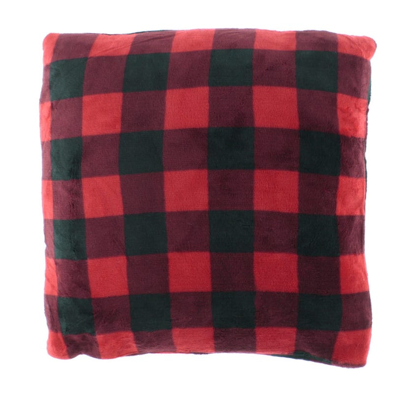 Cushion - Red/Black