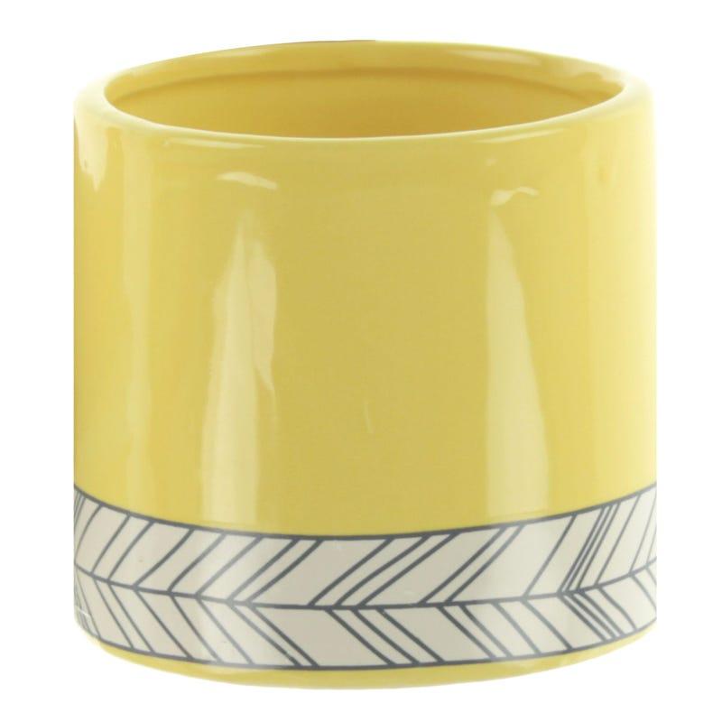 Pot - Yellow