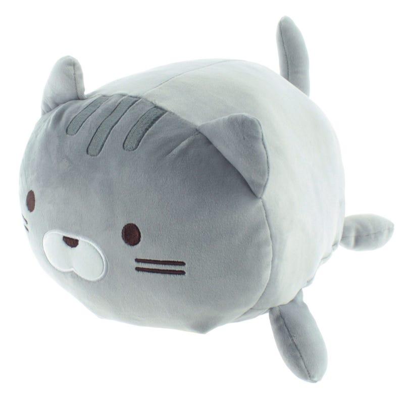 Round Cat - Grey
