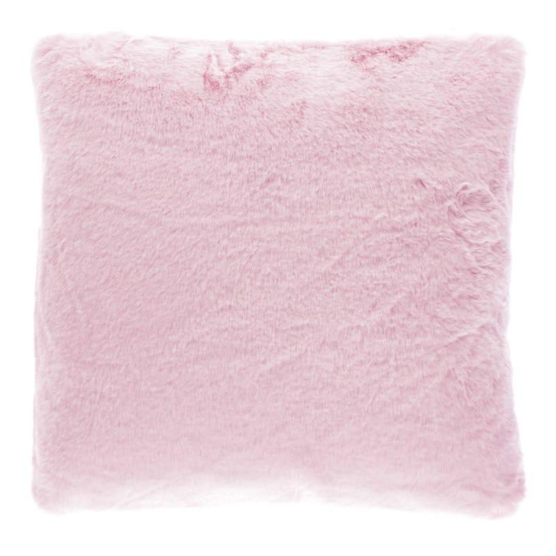 Cushion Fur Pink 45x45