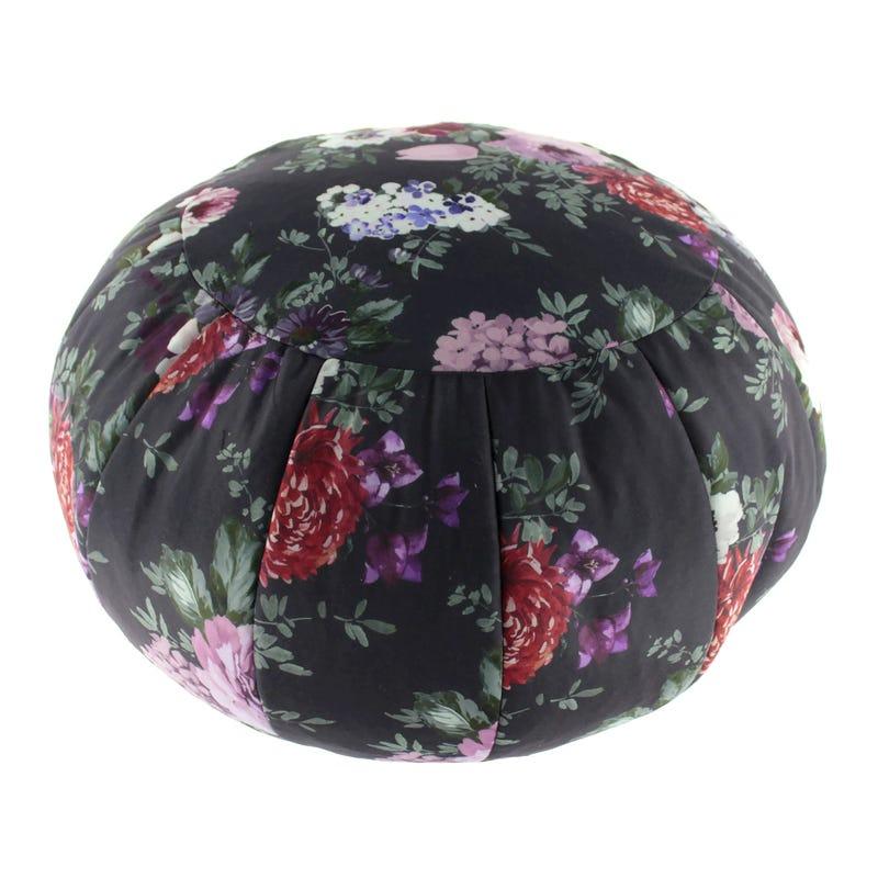 Pouf Rond Floral 50x50x30
