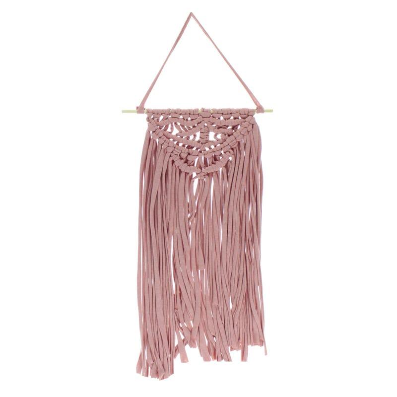 Macrame Pink 59x30 cm