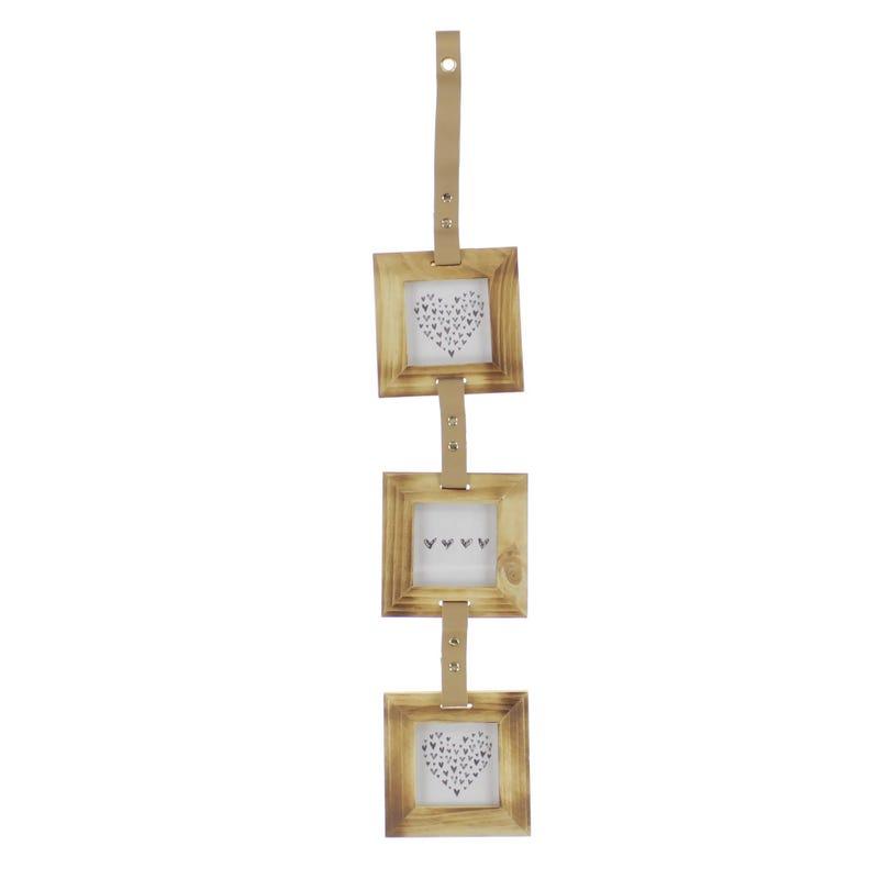 Cadre (3) Bois 11.5x1x70
