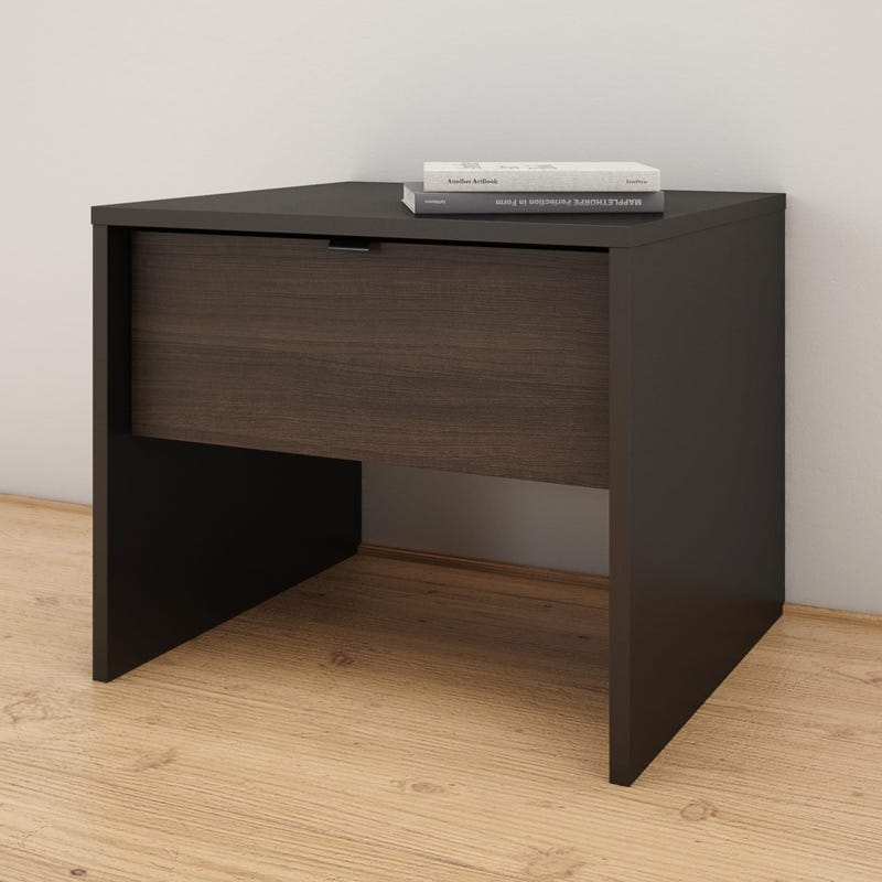Celeste Nightstand - Black and Ebony