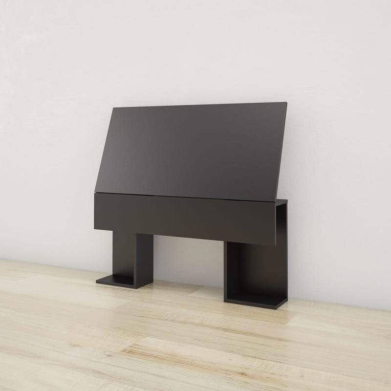 Aston Twin Size Headboard - Black