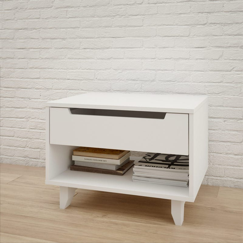 Boreal Nightstand - White