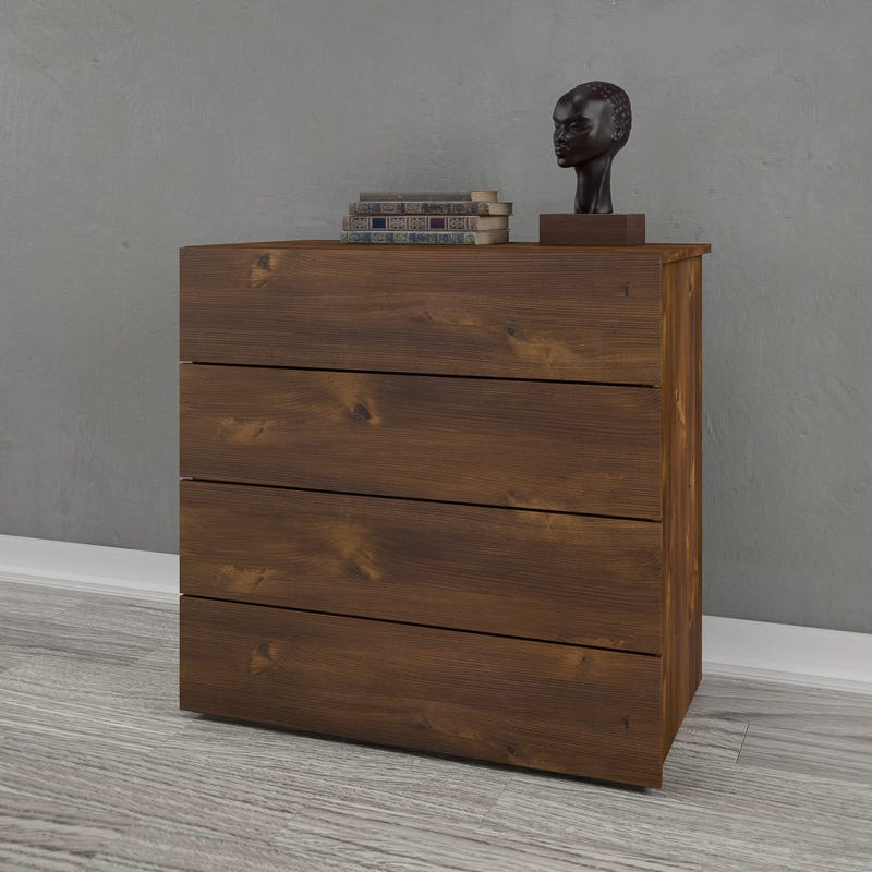 Arcadia 4-Drawer Chest - Truffle