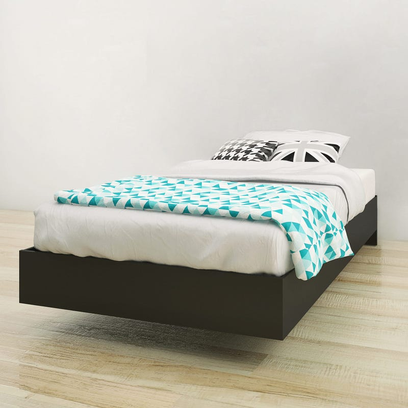 Corbo Twin Size Platform Bed - Black