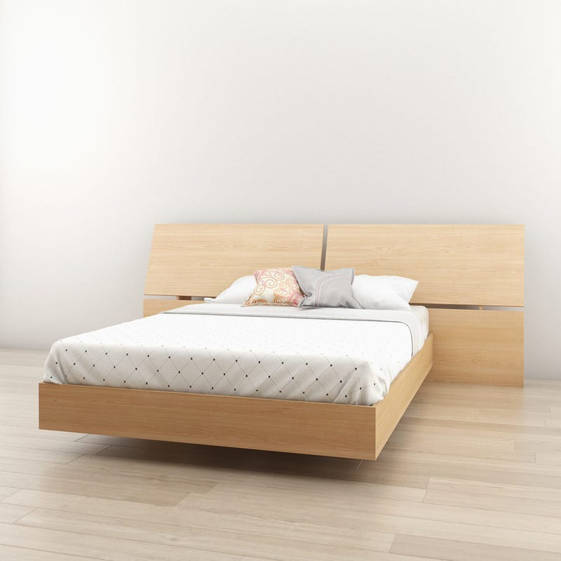 Fiji Full Size Panoramic Headboard - Natural Maple