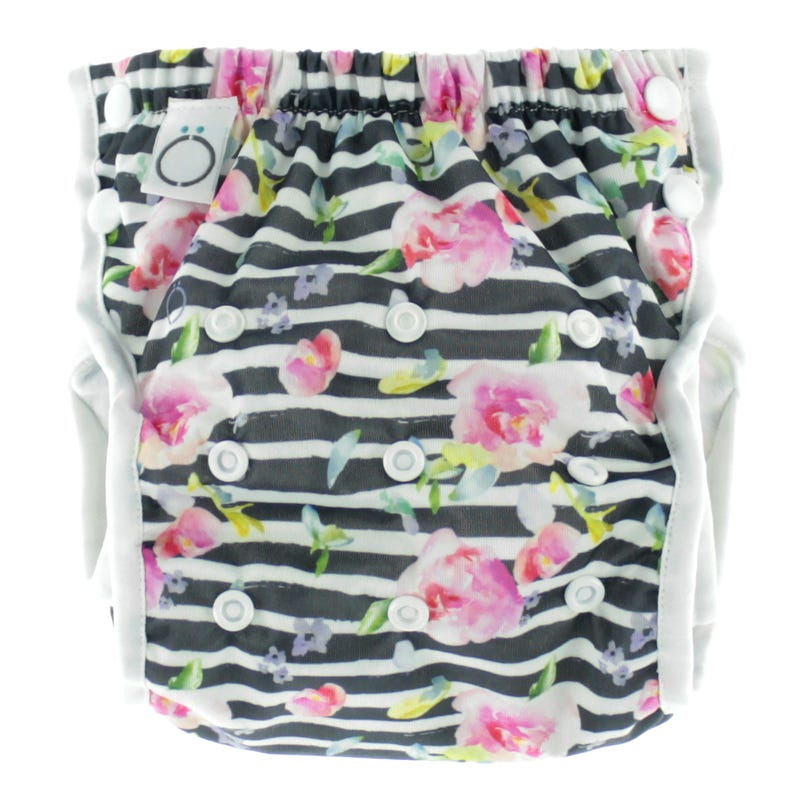 Swim Diaper 8-40lbs - Flowers