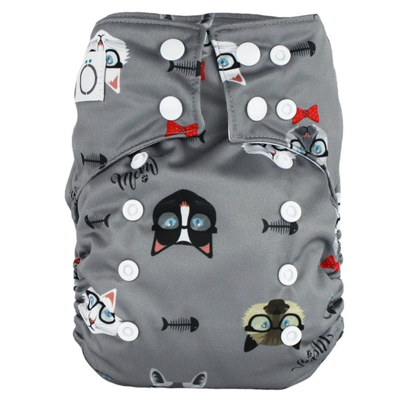 Aïo Cloth Diaper 8-35lb - Cats