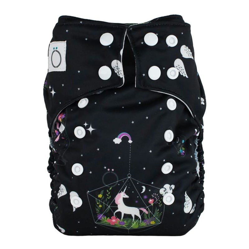 Aïo Cloth Diaper 8-35lb - Unicorn