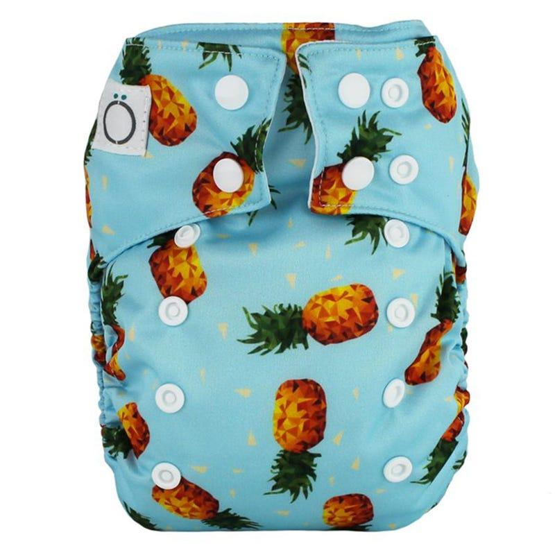 Aïo Cloth Diaper 8-35lb - Pineapple