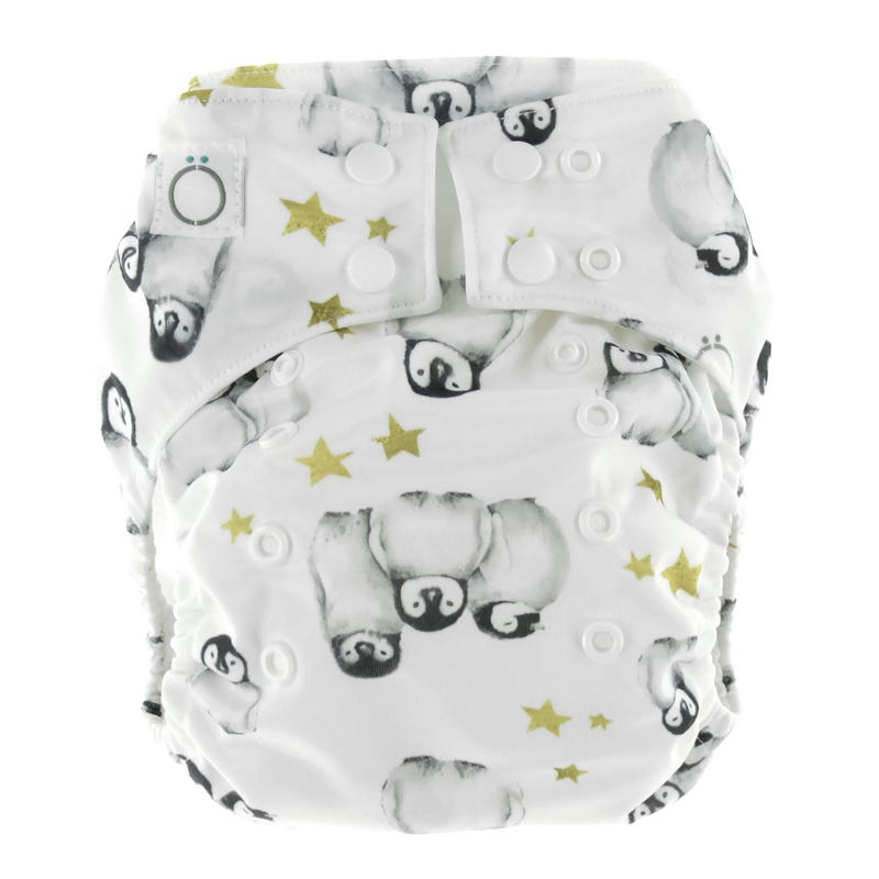 Penguins Aïo Cloth Diaper 8-35