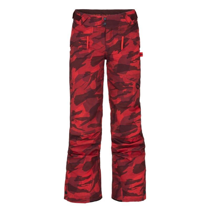 Pantalon Imprimé Camo 8-16ans