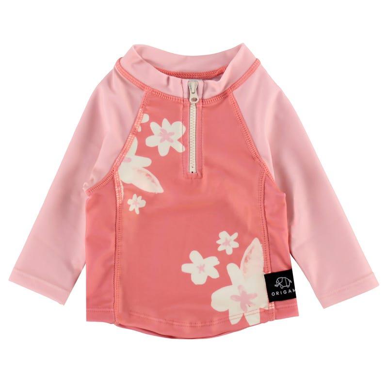 T-Shirt Maillot Fleurs 3-24M