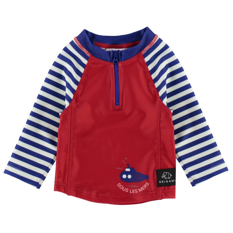 Nautical UV Rashguard 3-24M