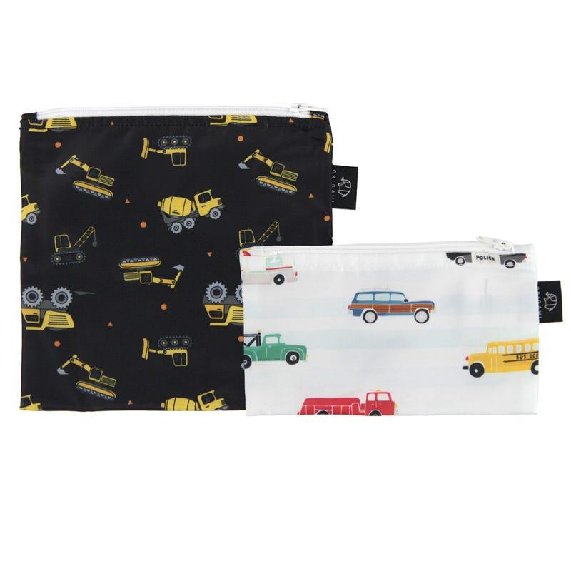 2-Pack Snack Bags - Trucks