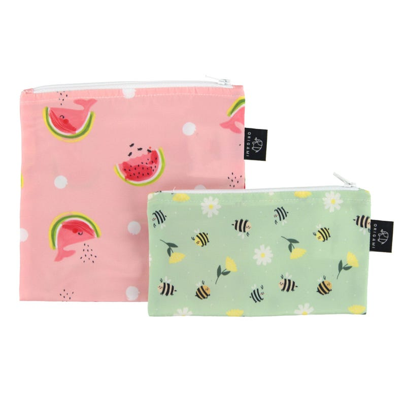 2-Pack Snack Bags - Watermelon