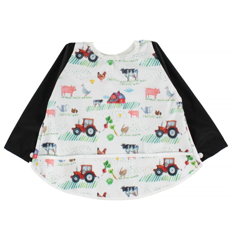 Long Sleeves Bib 0-36months - Country