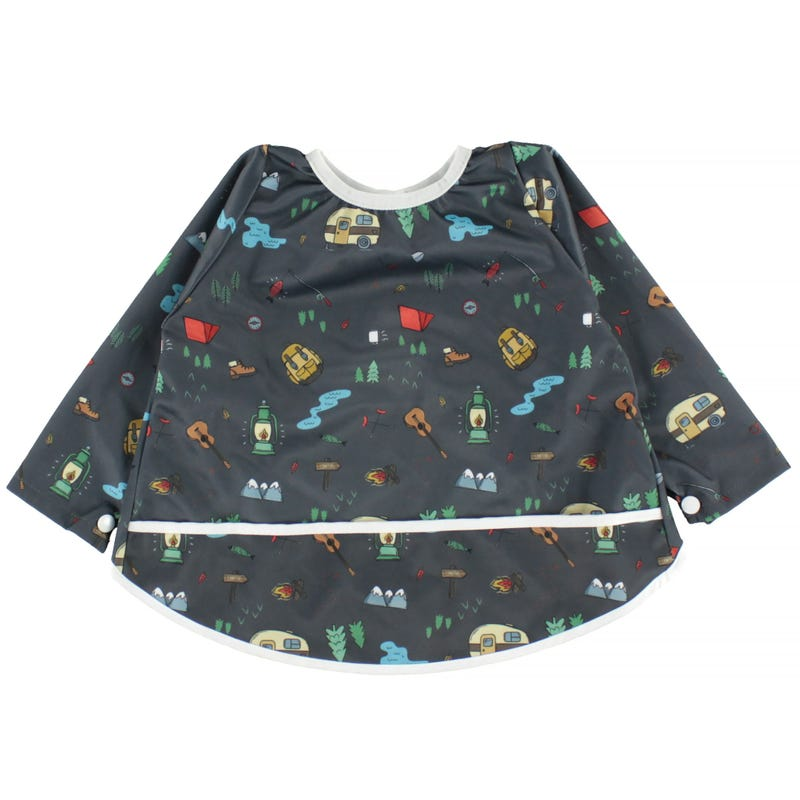 Long Sleeves Bib 0-36months - Camping