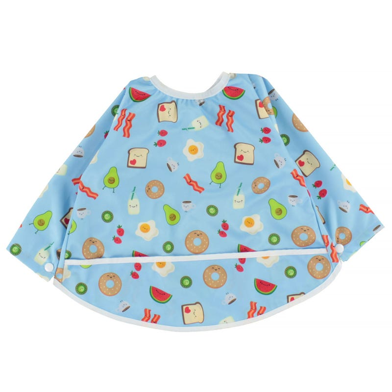 Long Sleeves Bib 0-36months - Breakfast