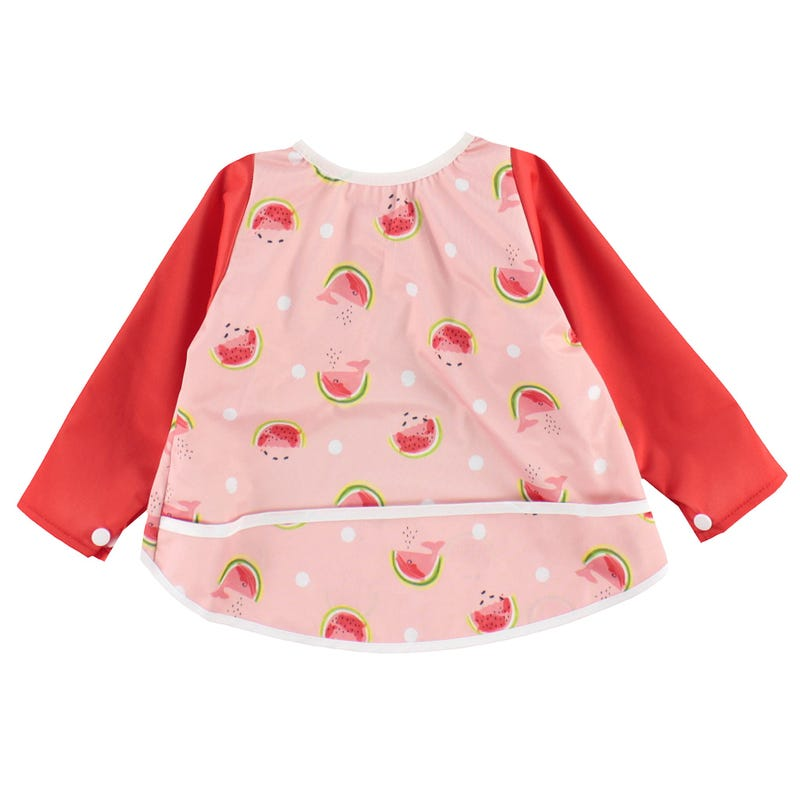 Long Sleeves Bib 0-36m - Watermelons