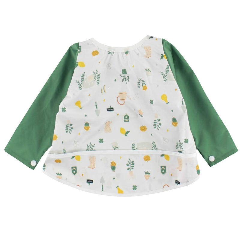 Long Sleeves Bib 0-36m - Gardening