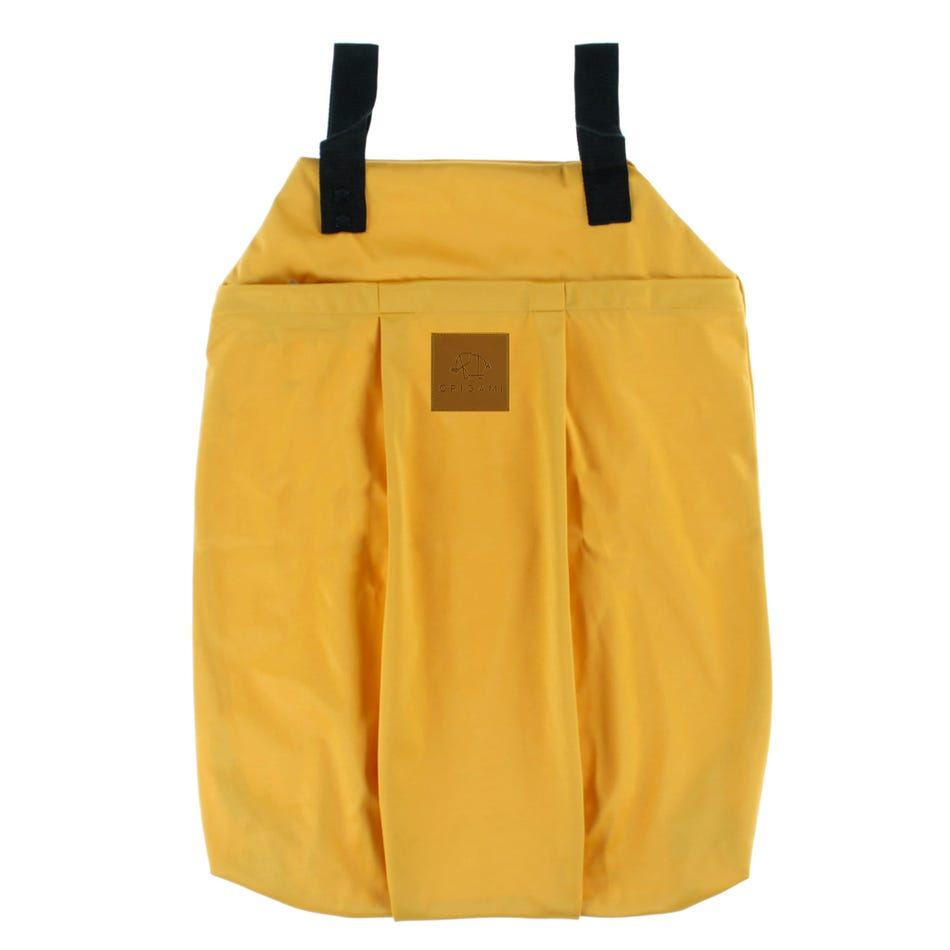 Origami Large Laundry Bag Mustard Clement