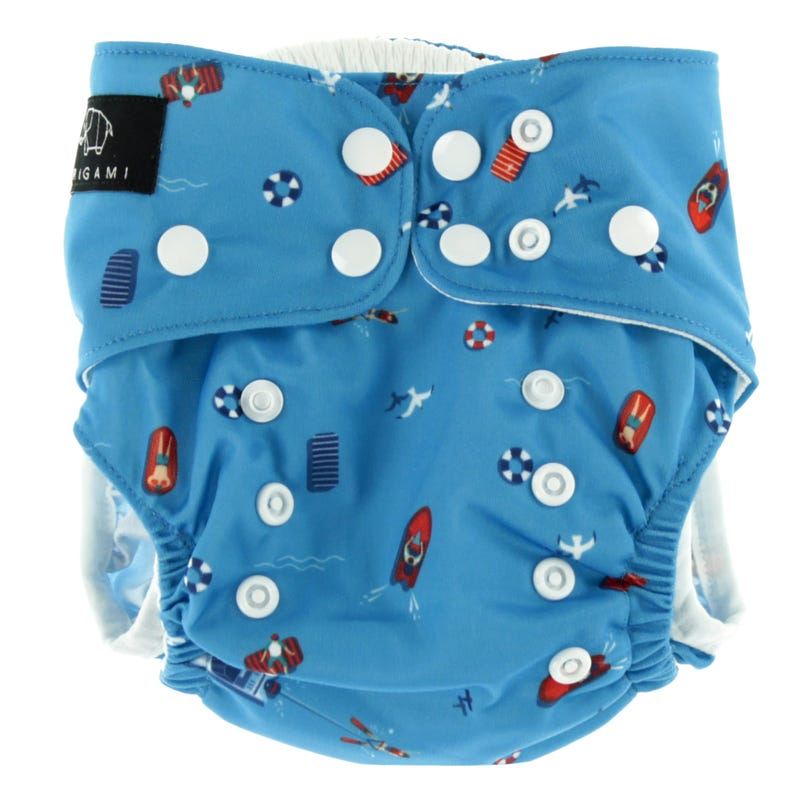 Swim Diaper 8-40lbs - Beach