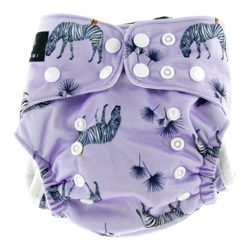 Swim Diaper 8-40lbs - Zebras