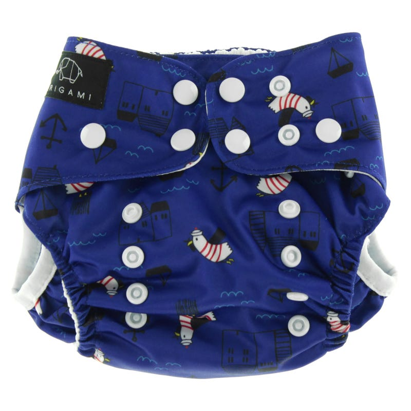 Nautical Swim Diaper 8-40lbs