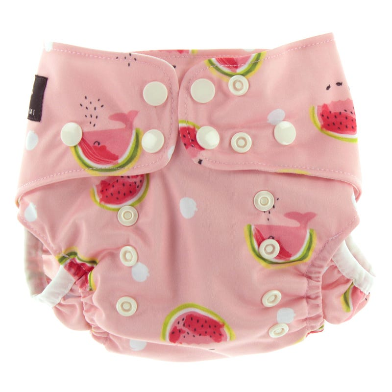 Watermelons Swim Diaper 8-40lb
