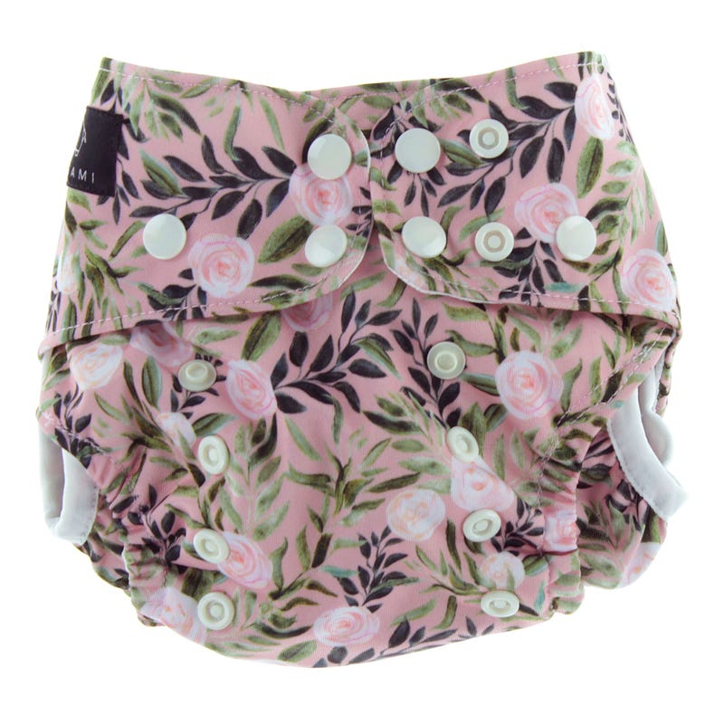 Flowers Swim Diaper 8-40lb